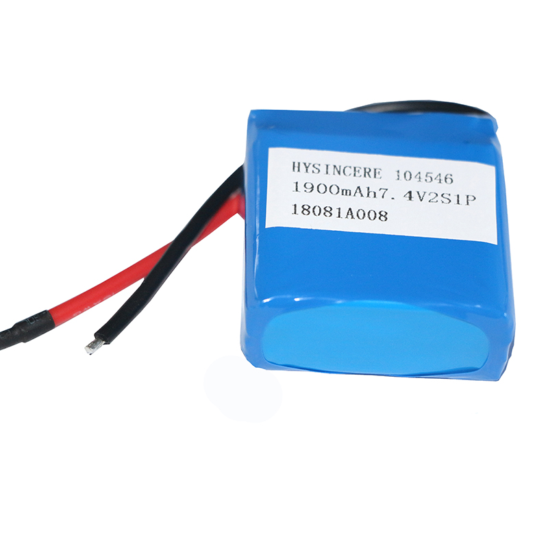 Hysincere lipo battery pack 104